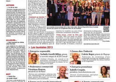 2013 Remise des Trophées Femme de l'Economie
